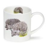 Fine bone china Dunoon Orkney Heather Longmuir Hedgehog mug