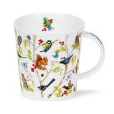 Fine bone china Dunoon Lomond Secret Wood Blue Tit mug