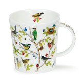 Fine bone china Dunoon Lomond Secret Wood Woodpecker mug