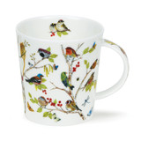 Fine bone china Dunoon Lomond Secret Wood Robin mug