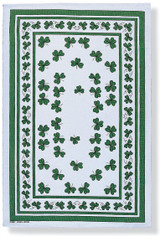 Shamrocks Cotton Tea Towel