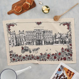 100% cotton Royally British Tea Towel from Victoria Eggs.