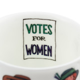 Alison Gardiner Bone China Suffragette mug boxed.