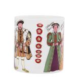 Alison Gardiner Bone China Henry VIII & his Wives mug boxed.