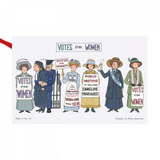 Alison Gardiner  Suffragette cotton tea towel