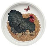 Vanessa Lubach Chickens Deepwell Tin Tray.
