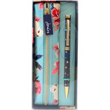 Joules Pen Case & Pen Gift Set