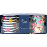 Joules set of 2 mugs gift set