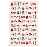 100% cotton New York, New York Tea Towel from Victoria Eggs.
