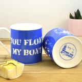 Port & Lemon You Float my Boat Bone China Mug