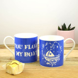 Port & Lemon You Float my Boat Bone China Mug