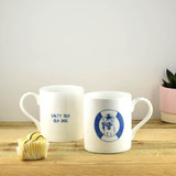 Port & Lemon Salty Sea Dog Bone China Mug