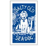 Port & Lemon Salty Sea Dog 100% cotton tea towel