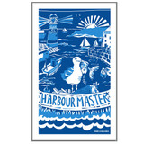 Port & Lemon Harbour Master 100% cotton tea towel