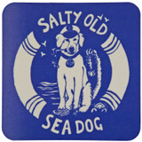Port & Lemon Salty Sea Dog Coaster
