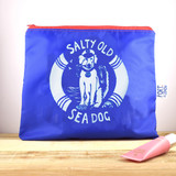 Port & Lemon Salty Sea Dog Large Zip bag