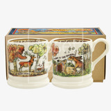 In the Woods Set of 3 half pint mugs from Emma Bridgewater.