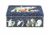 Winter Animals rectangular tin