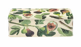 Emma Bridgewater Figs Deep Rectangular Tin.