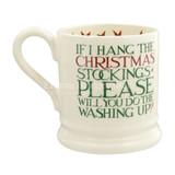 Emma Bridgewater Christmas Toast 'Father Christmas' 1/2 Pint Mug