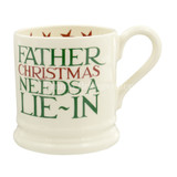 Emma Bridgewater Christmas Toast 'Father Christmas' 1/2 Pint Mug