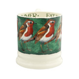 Emma Bridgewater Robin in the Green  1/2 Pint Mug