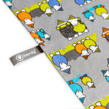 herdy Hiker cotton tea towel