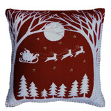 Jan Constantine Christmas Eve pillow.