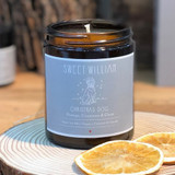 100% organic vegan Christmas Dog candle from Sweet William Designs.