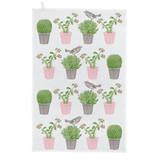 Thornback & Peel Cactus & Bird 100% Cotton Tea Towel