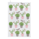 Thornback & Peel Cactus & Bird 100% Cotton Tea Towel