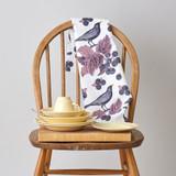 Thornback & Peel Blackbird & Bramble 100% Cotton Tea Towel