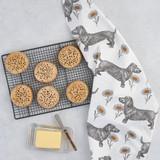 Thornback & Peel Dog & Daisy 100% Cotton Tea Towel