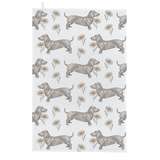 Thornback & Peel Dog & Daisy 100% Cotton Tea Towel