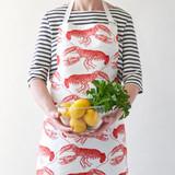 Thornback & Peel Lobster 100% Cotton Apron