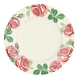 Pink Roses 10 1/2 inch Plate
