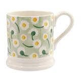 Daisy Light Green 1/2 Pint Mug