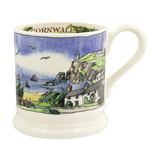 Landscapes of Dreams Cornish Beaches 1/2 Pint Mug