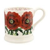 Red Anemone Half Pint Mug