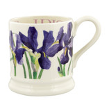 Hand Made 1/2 pint Blue Iris Mug by Emma Bridgewater