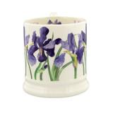 Hand Made 1/2 pint Blue Iris Mug by Emma Bridgewater