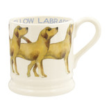 Yellow Labrador Half Pint Mug