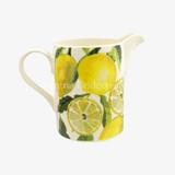 Emma Bridgewater Vegetable Garden Lemons Large Straight Jug. Handmade in England.