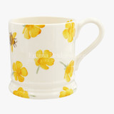 Emma Bridgewater Buttercup Scattered Half Pint Mug. Handmade in England.