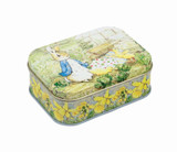 Peter Rabbit Small Rectangular Easter Tin