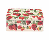 Emma Bridgewater Strawberries Deep Rectangular Tin