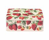 Emma Bridgewater Strawberries Deep Rectangular Tin