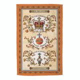 Emma Bridgewater The Crown Jewels 100% cotton tea towel