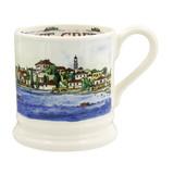 Emma Bridgewater Greece Half Pint Mug. Made in England