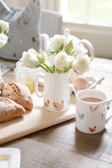 Sophie Allport bone china Lay a Little Egg! jug boxed.